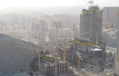 Truemax tower crane   used to JODP -Makkah Project