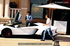 Scott Disick Scott Disick leaves Barneys New York in Beverly Hills and drives off in his white Lamborghini Aventador supercar http://www.icelebz.com/events/scott_disick_leaves_barneys_new_york_in_beverly_hills_and_drives_off_in_his_white_lamborghini_aventador_supercar/photo3.html