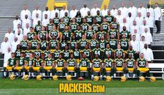 Green Bay Packers 2012 team photo