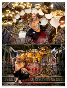 Nicko Mcbrain (Iron Maiden) Sonor Drums