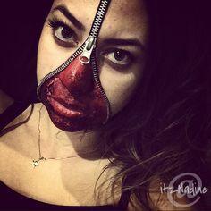 20 Awesome Zipper Face Halloween Makeup Jobs [FEATURED LIST ...