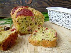 Di gotuje: Keks wytrawny z żółtym serem, salami i oliwkami Ca...