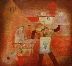 Afbeelding Paul Klee - KN der Schmied, 1922. 173