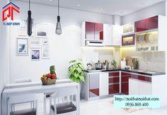 Thi công tủ bếp nhà chú Thuận ở Thủ Đức - NTB37