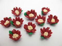 fimo flower 8 by ThirdEarDear on Etsy, $1.15