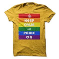 (Tshirt Coupons) Pride On [Teeshirt 2016] Hoodies Tee Shirts