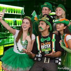 Shamrockin' selfie anyone? When you hit the pubs decked out in our St. Pat's accessories, you'll want to capture a memory or two!