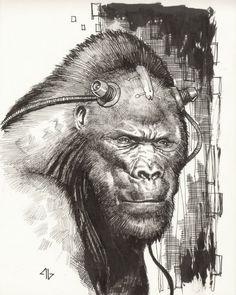 Gorilla Grodd by Adi Granov