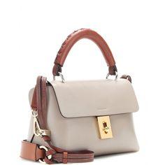 Chloé - Fedora leather shoulder bag - mytheresa.com