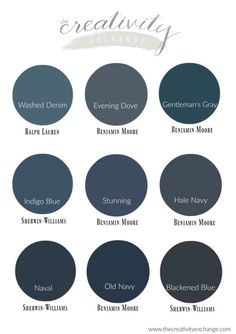 Our Favorite Navy Paint Colors