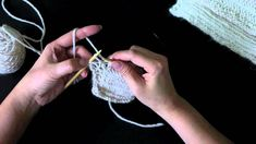 How to Knit Herringbone Scarf.mov