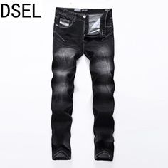 >> Click to Buy << DSEL 2017 Spring Summer High Quality Brand Jeans Men Elastic Male Denim Pants Casual Long Men Jeans Male Trousers Large Size 40 #Affiliate