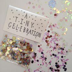 A Tiny Celebration.