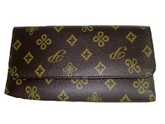 Ladies Brown Long Wallet and Check Book Cover *** More info could be found at the image url.