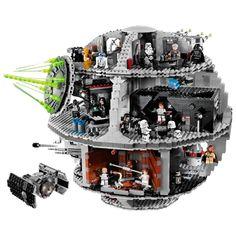 Конструктор классический Конструктор LEGO Звёздные войны 10188 Звезда Смерти