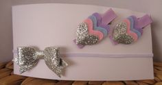 Hair Accessories Pack - Silver by UnderTheCherryTreeAU on Etsy