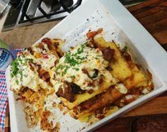 Lasagna de polenta de Mi amiga del parque con Daniel Hendler