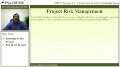 Learn how to handle the Risk of a Project.  Learn more concepts related to PMP here.  https://www.apnacourse.com/course/pmp