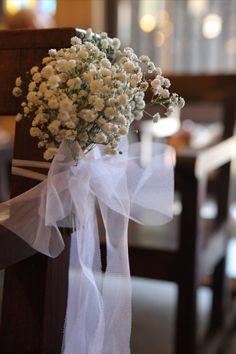 decoracion flores iglesia boda - Buscar con Google