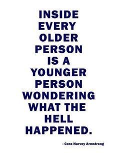 Older versus younger