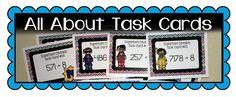 How to make Task Cards Task Card Organizati. Math Task Cards, Social Studies, Classroom, Study, Science, Class Room, Studio, Studying, Sociology