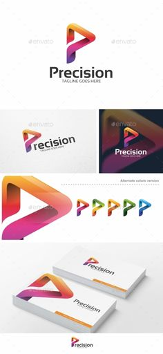 Buy Abstract P Letter - Logo Template by putra_purwanto on GraphicRiver. Abstract, Colorful P Letter – Logo Template Re-sizable vector Editable text Easily customizable colors AI &. P Logo Design, Logo Design Template, Logo Templates, Branding Design, Lettering, Typography Logo, Logo Branding, Initials Logo, App Logo