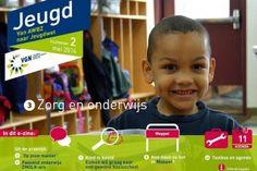 Voorkant e-zine Jeugd 'Van AWBZ naar Jeugdwet' zorg & onderwijs