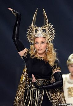 "Madonna Superbowl goddess """