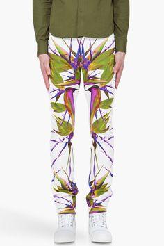 Givenchy - birds of paradise jeans