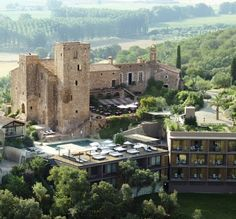 Castel D'Emporda just north of Barcelona, Spain...Amazing hotel....