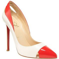 Christian Louboutin Pigalle Cutout Pump | Red high heels....NEED IT NOW!!!!
