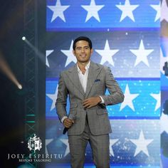 "#Repost of @joeyespiritu_bespoke via @EasyRepost - ""Fashion says 'me too', style says 'only me'"" - Anonymous.  Gerald Anderson, wearing a Joey Espiritu checkered grey wide lapel suit for his leading man production at the Star Magic 25th anniversary on ASAP at the Araneta  Coliseum, May 21. Definitely, only him. Always in a Joey Espiritu.  #BespokeTailoring  #WearYourDebonair  #ASAPStarMagic25 #leadingmenprod #JoeyEspiritu  #suit #classic #widelapel  #peaklapel #fashion  #menfashion…"