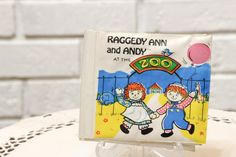 Vintage 1970s Raggedy Ann and Andy Plastic Baby Bath by CabinOn6th
