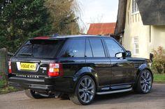 Range Rover Sport HSE 2007 Java Black
