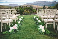 Chapel by the Lake Garden Ceremony - Queenstown New Zealand - Simply Perfect Weddings Chapel Wedding, Wedding Bride, Wedding Ceremony, Wedding Venues, Wedding Photos, Wedding Day, Lake Garden, Blue Bridesmaid Dresses, Wedding Dresses