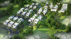 Pentium Spring Green Premium Villas-Aerial View