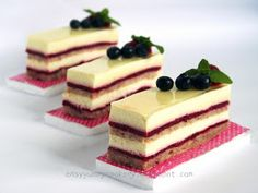 Easy Yummy Cookery: Raspberry Rose Vanilla Bavarian Cream Cake