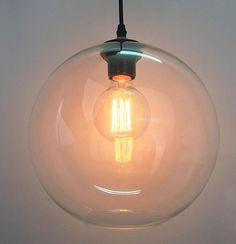 INCLUDES BULB Vintage Industrial hanging ceiling light