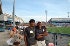 Sri Sundaram and his son - Seidman Fall Party - Whitecaps 2012
