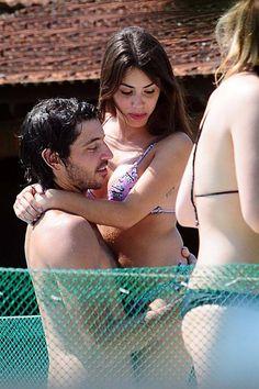 Lali Espósito y su novio Santiago Mocorrea
