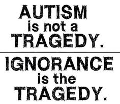staying ignorant to it is the tragedy