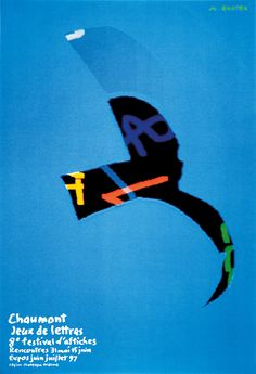 Michel Quarez, 1997 - International Poster and Graphic Design Festival / 19 posters since 1990