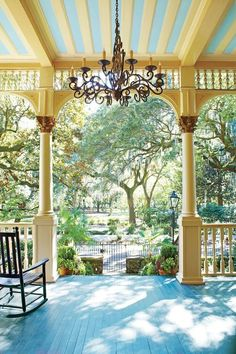 It's unanimous—a porch's beauty is defined as much by the view looking out as by what's found inside the columns. We polled tastemakers across the South, and here's where they'll be porching this season.