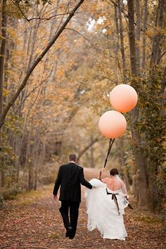 Balloons make everything seem extra joyful.