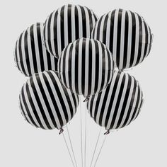 stripy balloons
