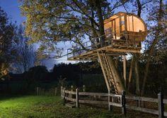 tree -house via Bird Yard