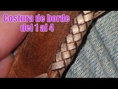 """Costura de borde del 1 al 4 """"El Rincón del Soguero"""""""