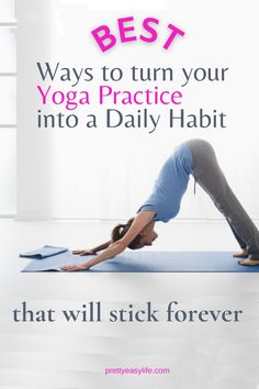 You feel so good after your Yoga Practice and yet it's hard to turn into a daily habit by yourself. Find out how to make it happen. Calming Activities, Physical Activities, Mindfulness Practice, Mindfulness Meditation, Yoga Lifestyle, Healthy Lifestyle, Restorative Yoga Poses, Online Yoga Classes, Healthy Sleep