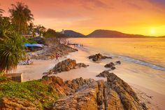 Just off some of the best shopping, dining and entertainment areas of Phuket, Patong Beach offers a great place to relax. Phuket Thailand, Thailand Honeymoon, Honeymoon Places, Honeymoon Destinations, Honeymoon Packages, Honeymoon Ideas, Patong Beach, Dubrovnik, Best Beaches In Phuket