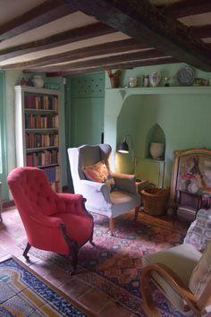 Monk's house living room